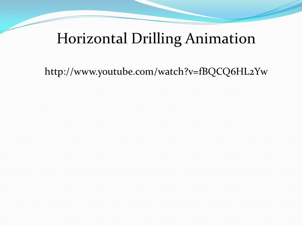 Horizontal Drilling Animation http://www.youtube.com/watch?v=fBQCQ6HL2Yw