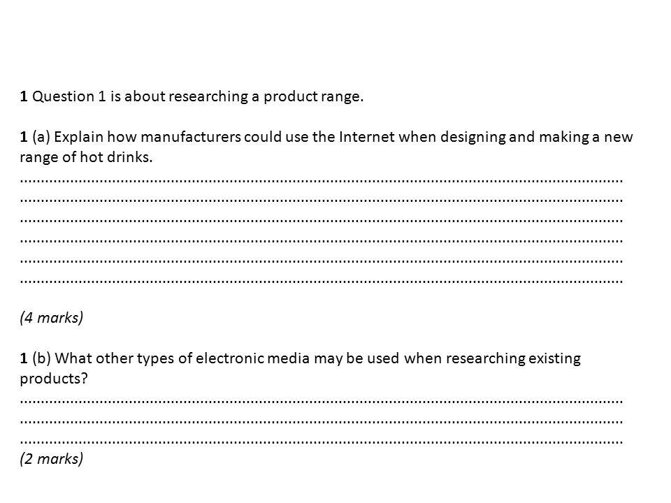 GCSE AQA Product Design: What exam mark do I need?