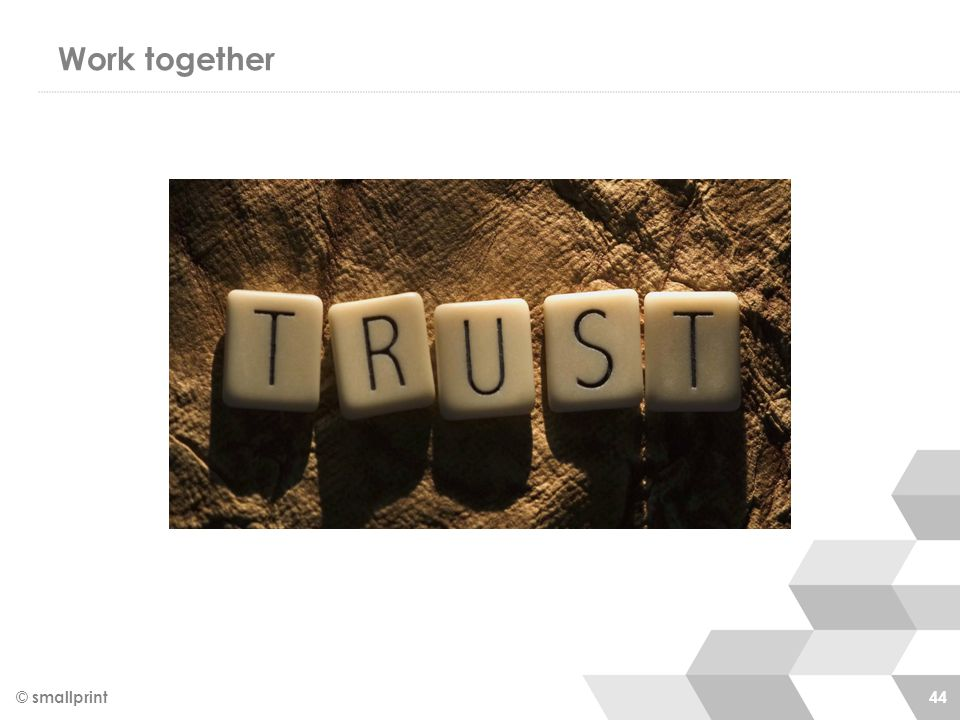 Work together © smallprint 44