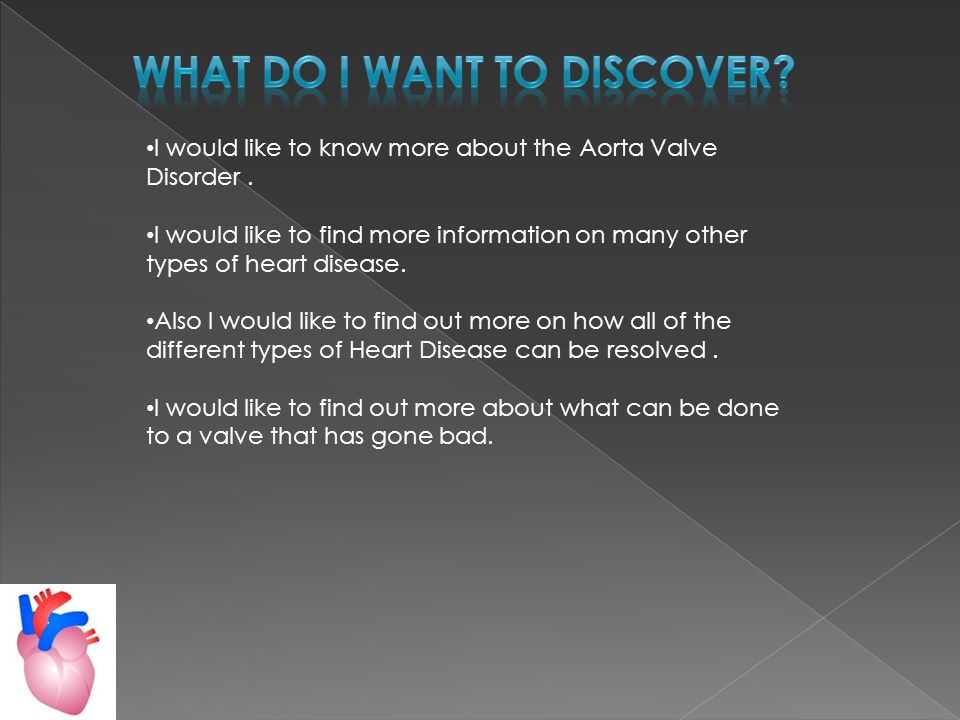 I would like to know more about the Aorta Valve Disorder.