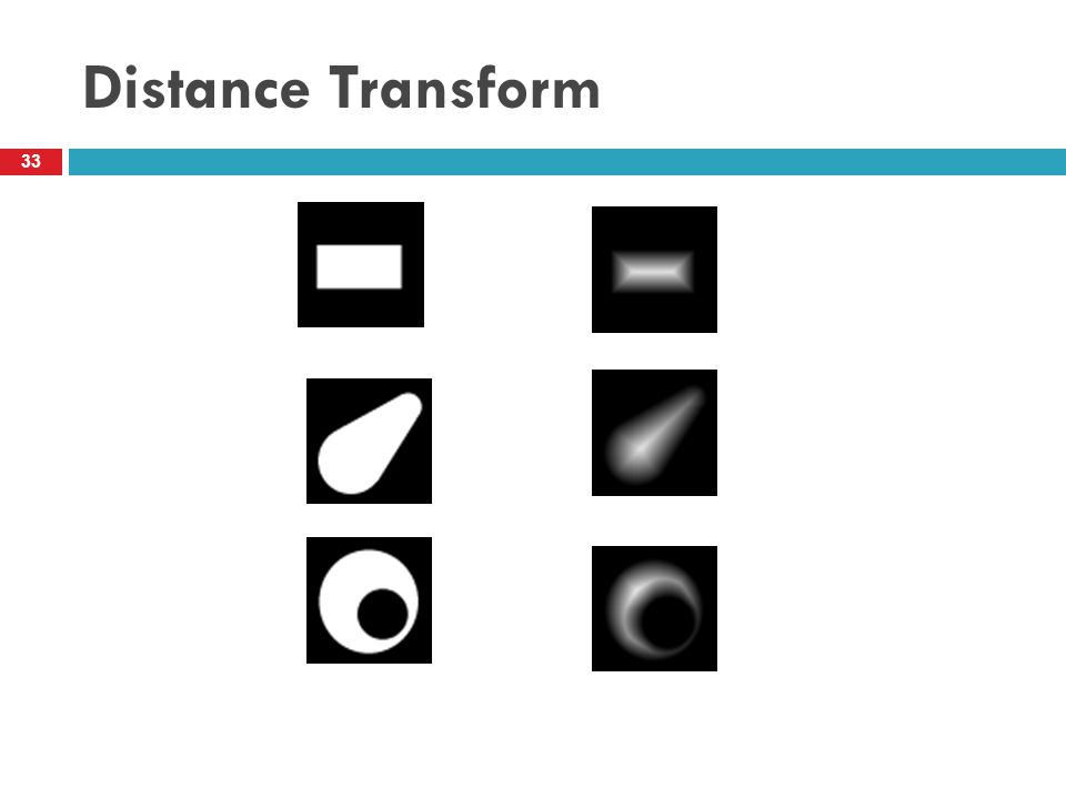 Distance Transform 33