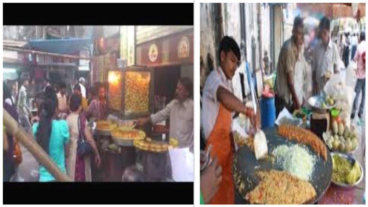 In Mumbai KHAU GALI is a famous road for street food like : -vada-pav -bhel puri -sev puri -dahi puri Dahi Puri Sev Puri Bhel Puri