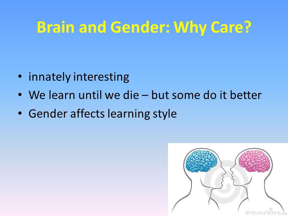 Gender & Brain Structures Ex.
