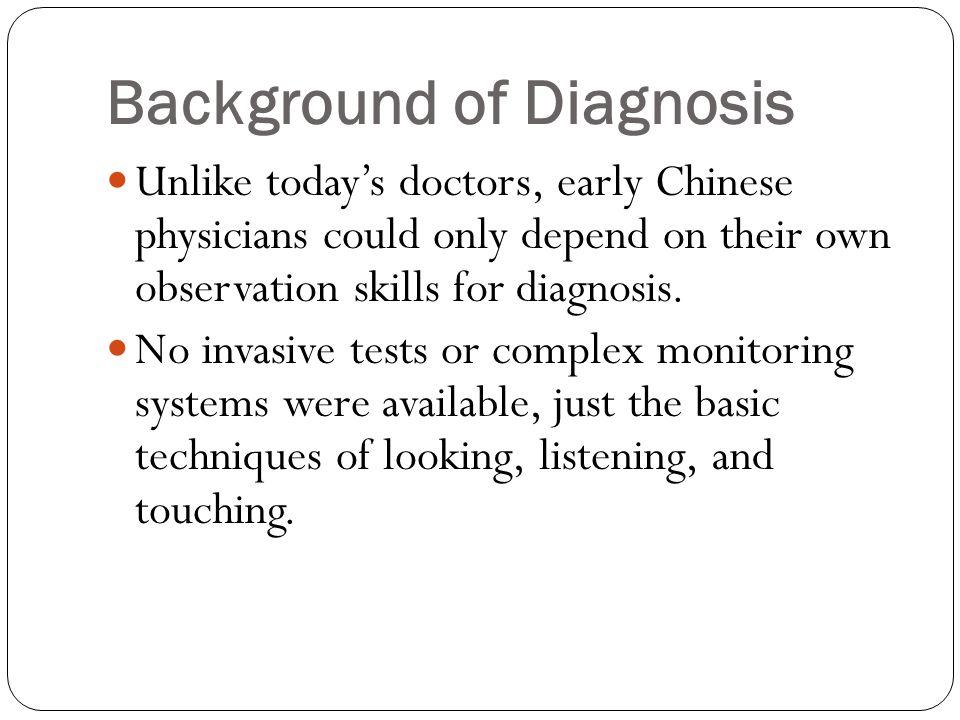 Ms Tay Ai Choo 22/11/2014 to 20/1/2015 FUNDAMENTALS OF TCM DIAGNOSTICS