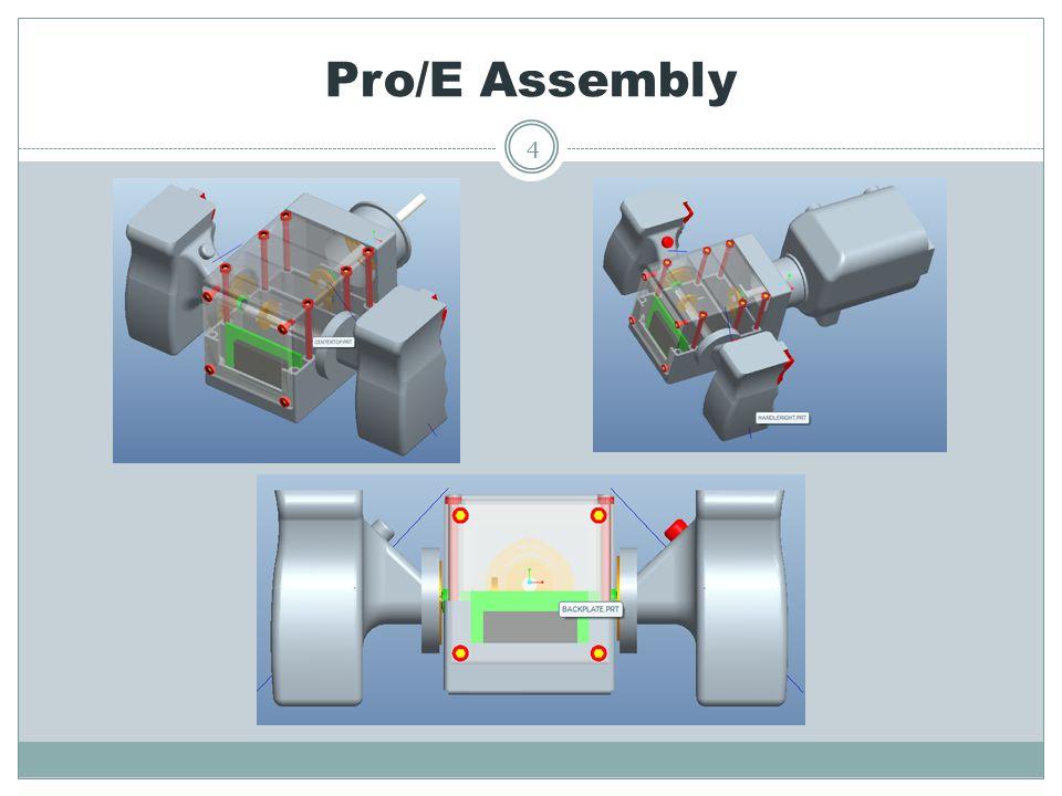 Pro/E Assembly 4