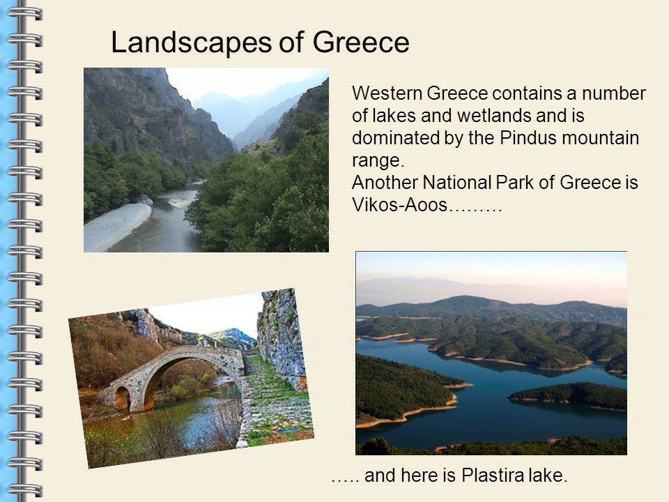 Landscapes of Greece Pindos Pinios river Pindos Olive trees Nestos river