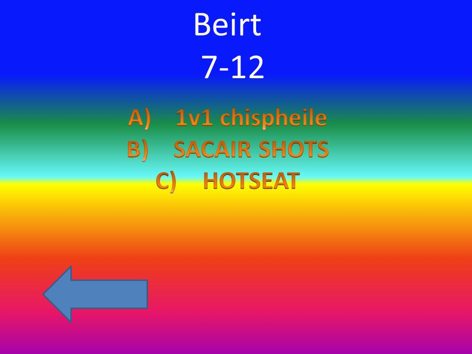 Beirt 7-12