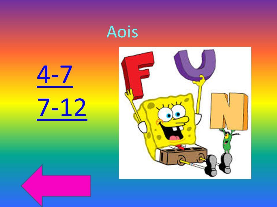 Aois 4-7 7-12