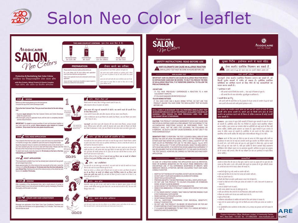 Salon Neo Color - leaflet