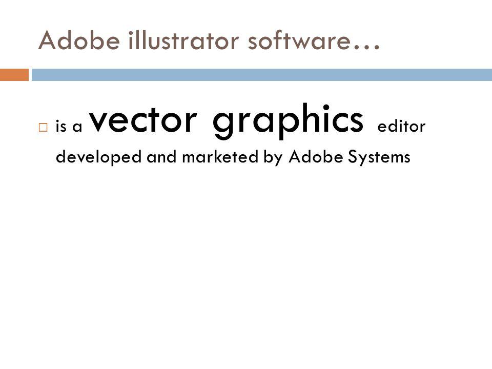 VECTOR GRAPHICS….