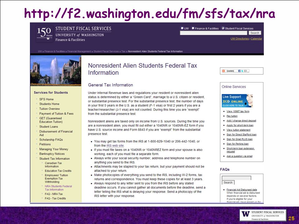 25 http://f2.washington.edu/fm/sfs/tax/nra