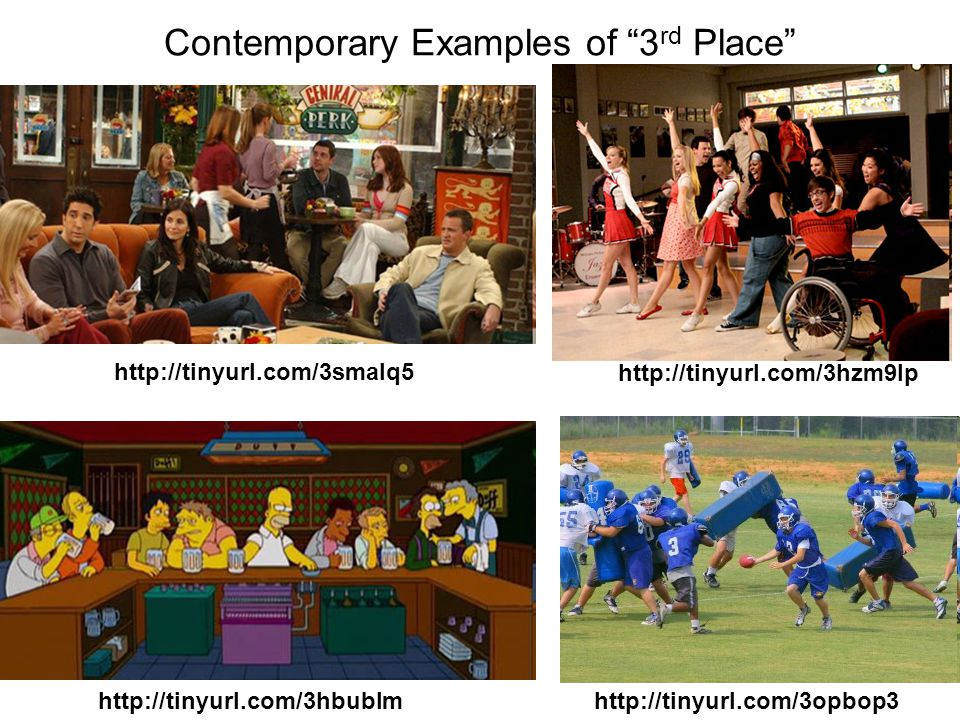 Contemporary Examples of 3 rd Place http://tinyurl.com/3smalq5 http://tinyurl.com/3hbublm http://tinyurl.com/3hzm9lp http://tinyurl.com/3opbop3