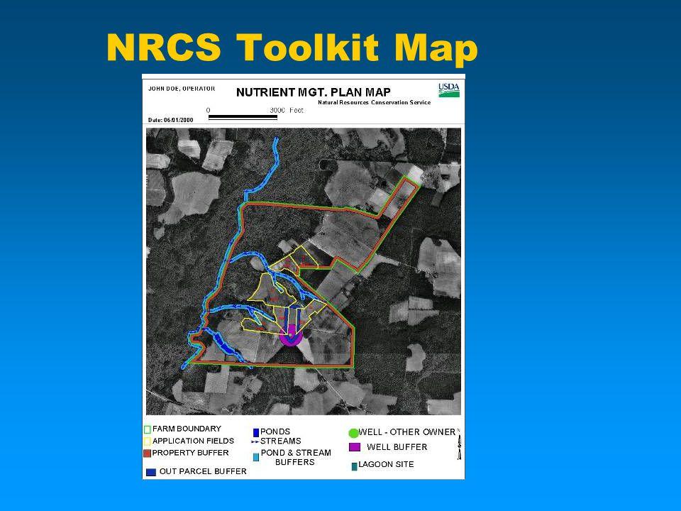 NRCS Toolkit Map