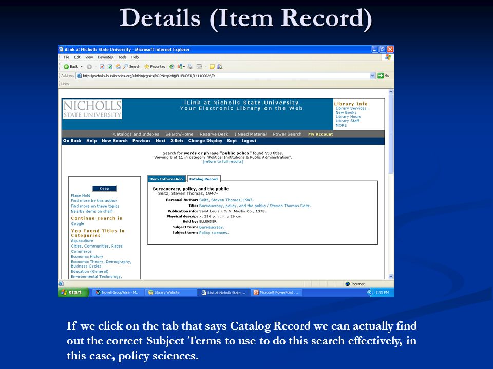 Here are your Government databases You can click on and search any one, for example Military and Government Collection