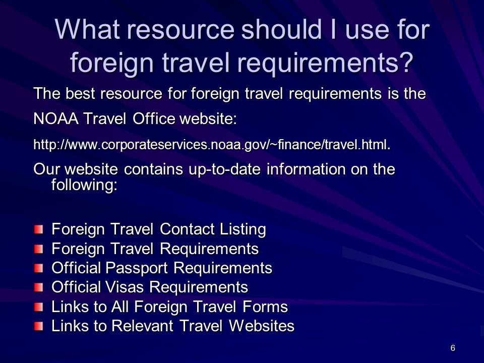 17 How does the NTO process a foreign travel package.