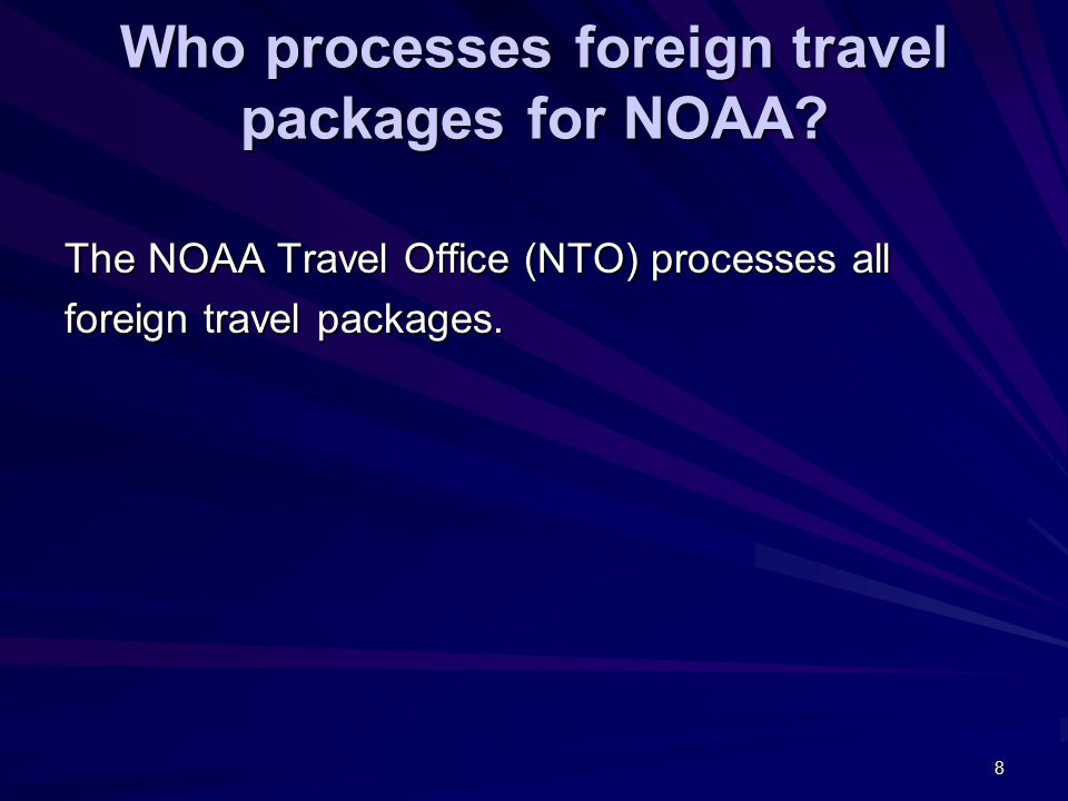 19 As a NOAA employee traveling to a foreign country on official business, am I required to obtain an official passport.