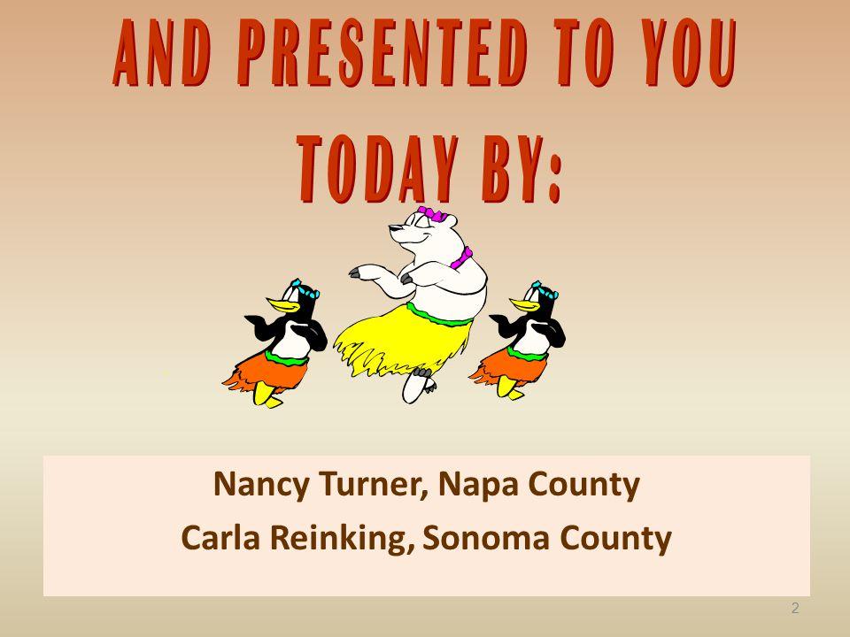 Carla Reinking, Sonoma County 2