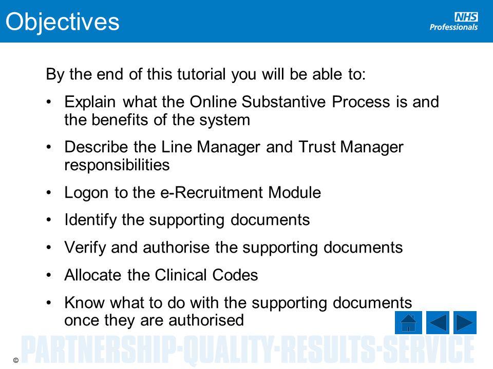 Authorisation Login The eRecruitment Module Login screen is displayed.