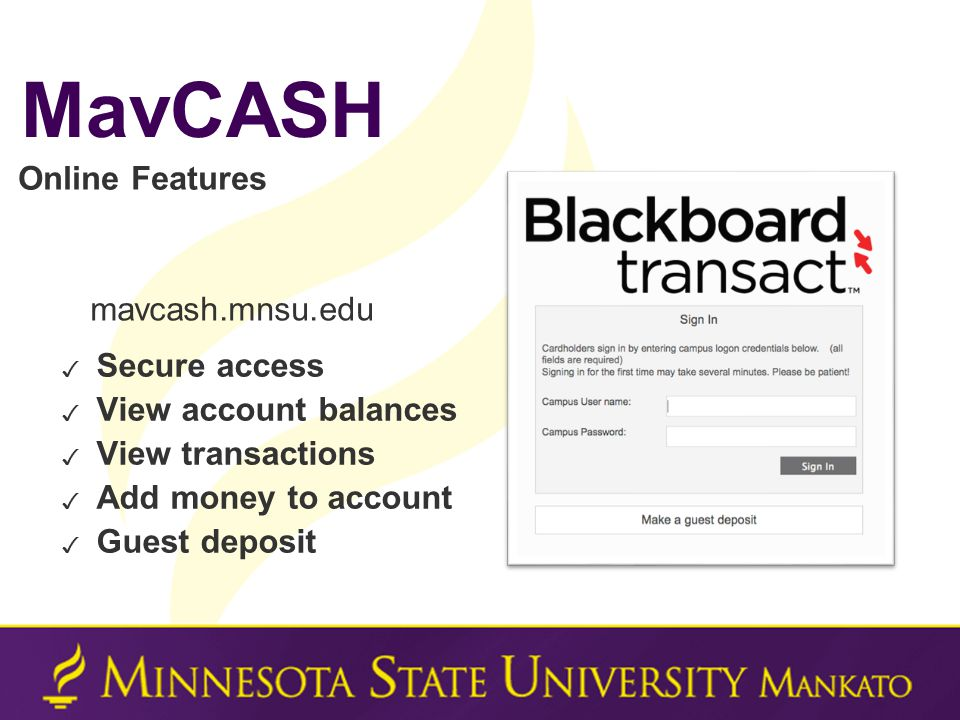 Residence Hall Meal Plans & Flex Dollars ✓ Use at campus dining locations ✓ Request Meal Plan information at Office of Residential Life ✓ Add Flex Dollars at University Dining Services