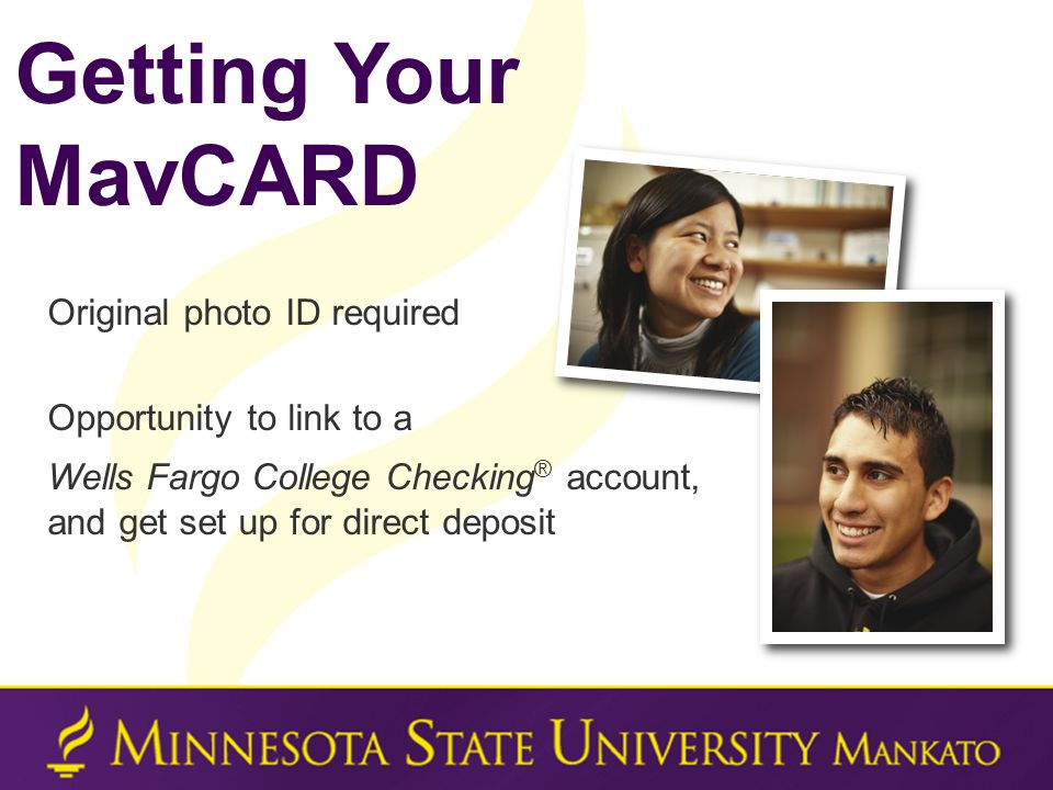 11:00 -11:45 am limited lunch break opportunity 1:30 pm - 3:30 pm After Advising / Registration Getting Your MavCARD