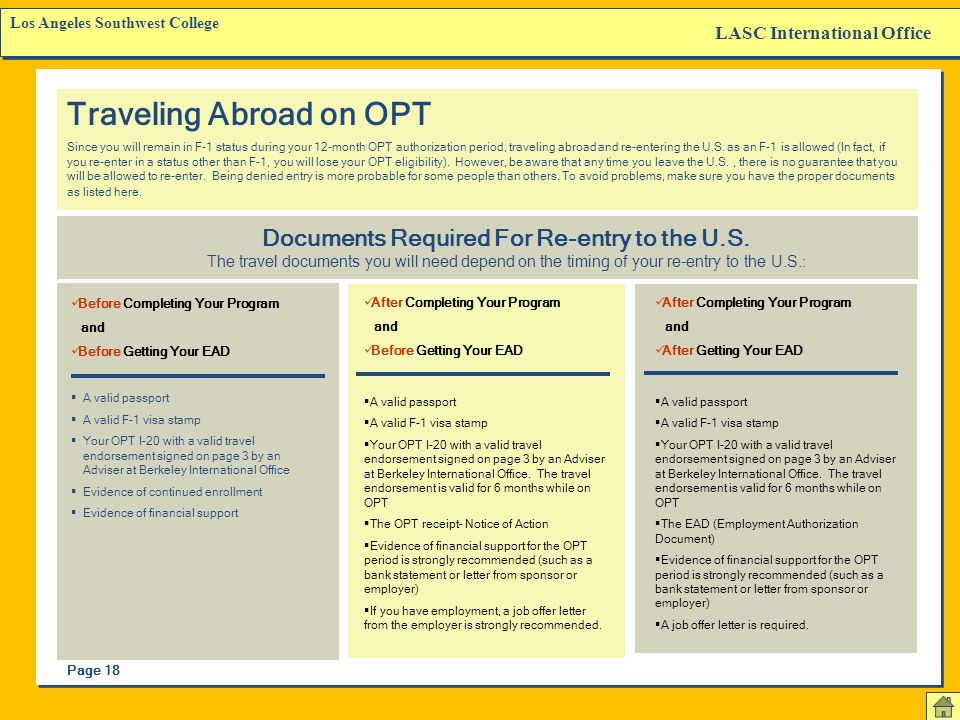LASC International Office Los Angeles Southwest College The Notice of Action This is your OPT application receipt from USCIS. It normally takes about