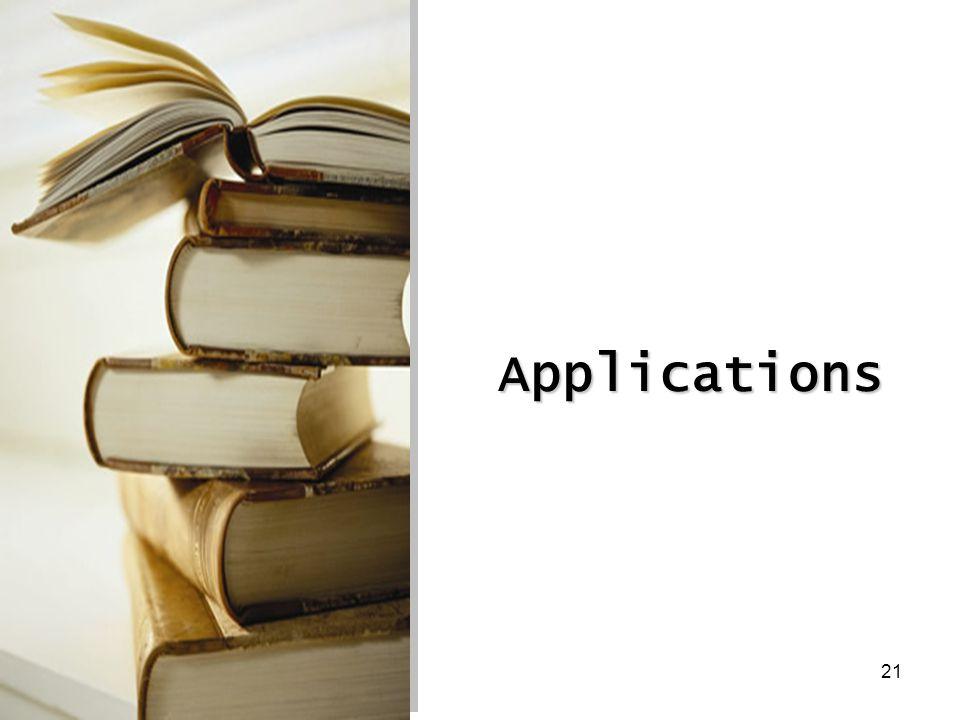 21 Applications