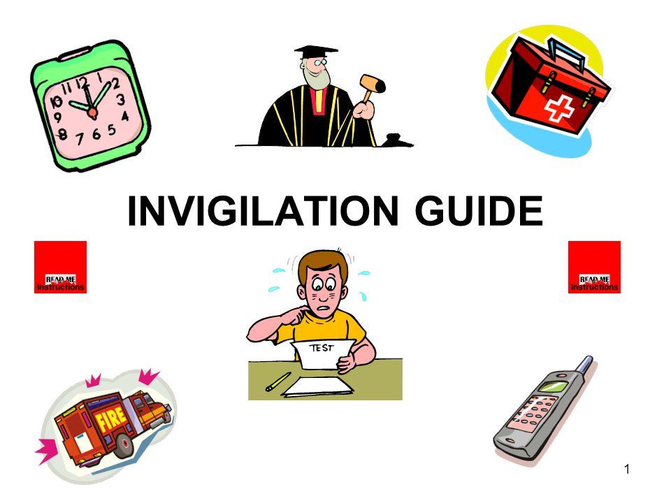 1 INVIGILATION GUIDE