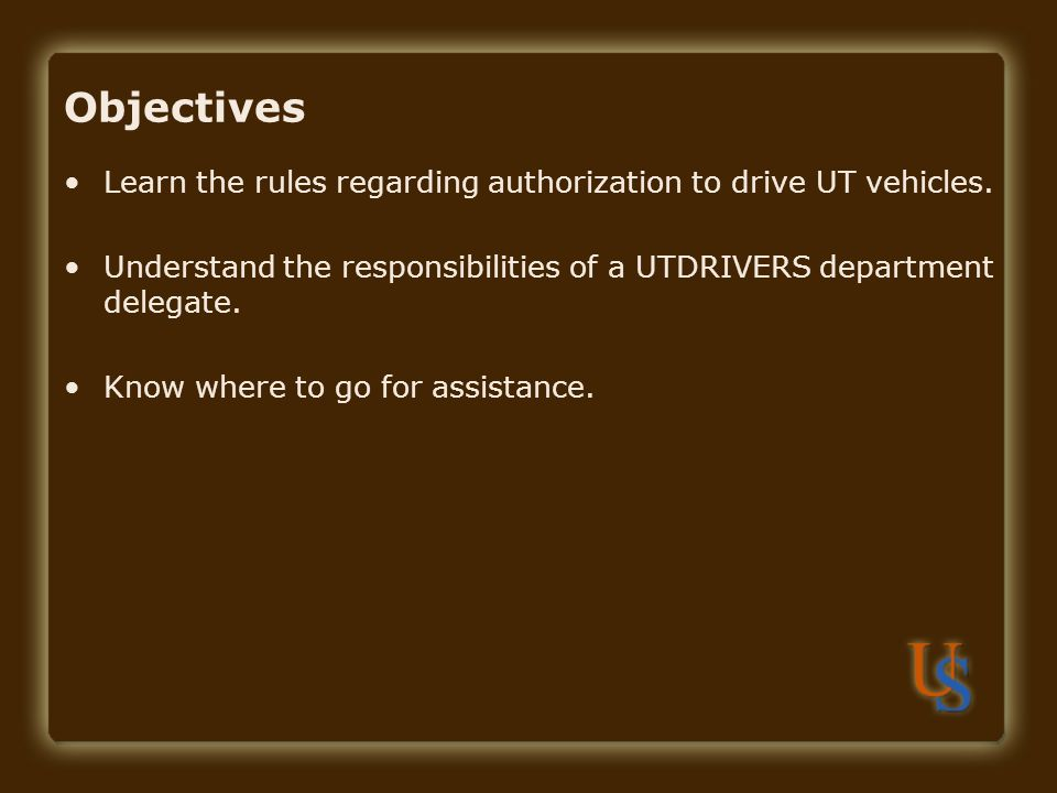 Contact Responsibilities: Maintaining Driver Information In order to enter a new driver, you need to see the employee's driver's license, driver training certificate, and official copy of the driving record.
