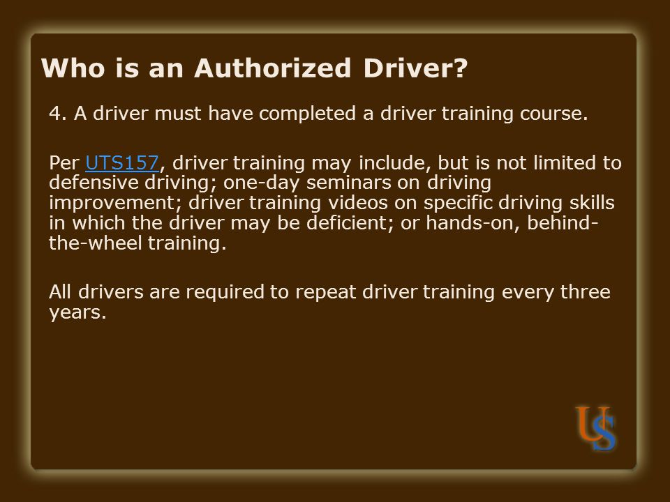 Contact Responsibilities: I Drive Safely Driver Training Departments should provide the employee with an account number to charge when the employee takes the online training.