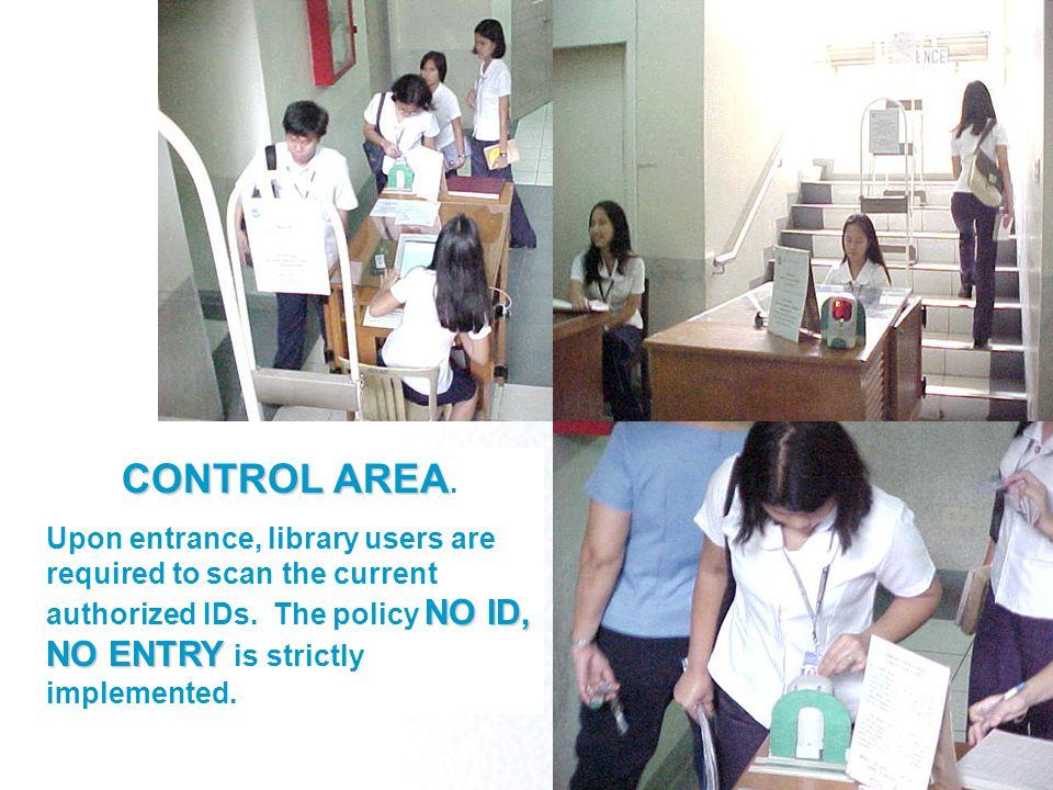 CONTROL AREA CONTROL AREA.