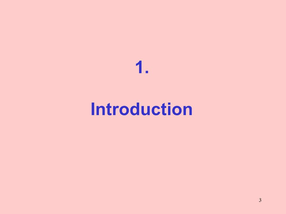 3 1. Introduction