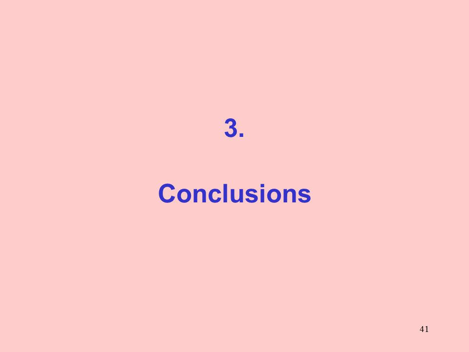 41 3. Conclusions