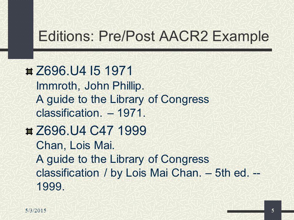5/3/20156 Editions: Post AACR2 HB171.5.M187 1993 Macroeconomics / Richard G.
