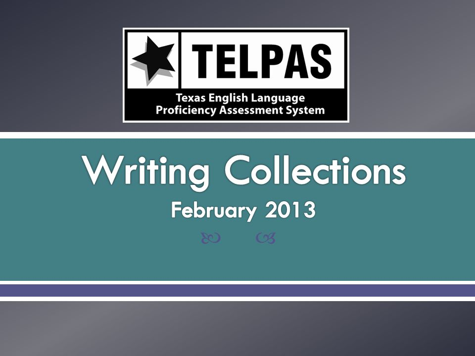  Select writing collection verifiers.