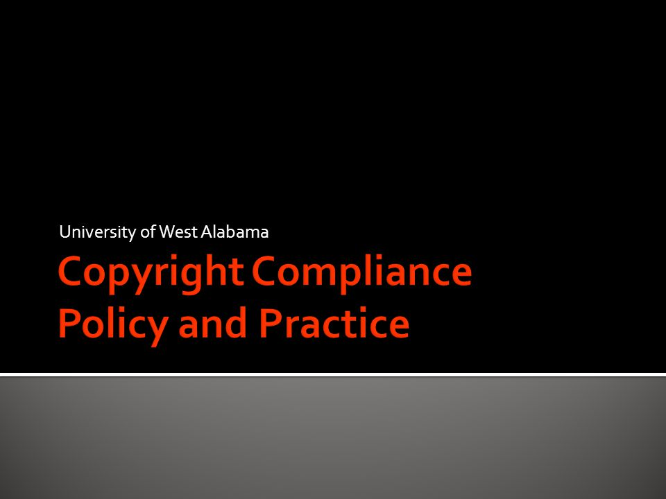 Copyright is a form of protection provided by the laws of the United States (title 17, U.