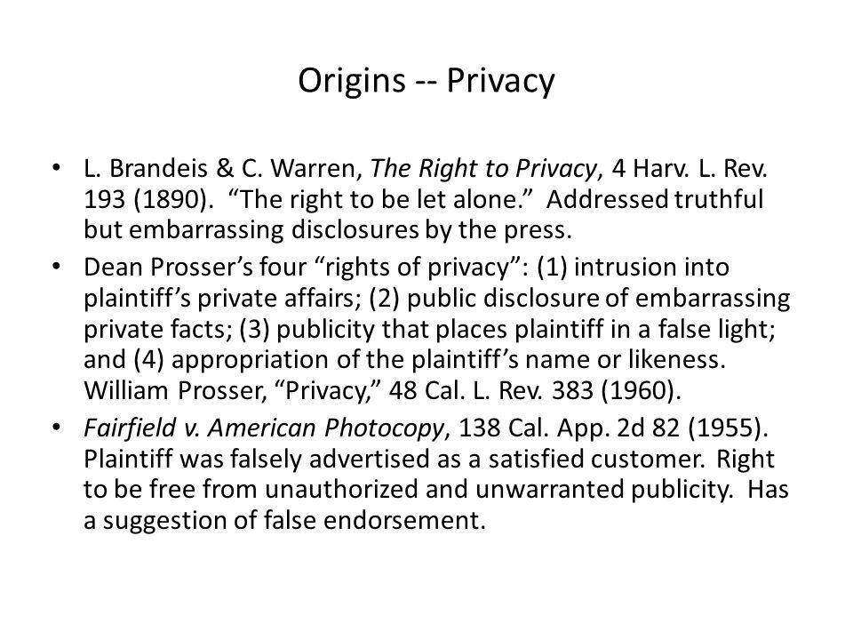Origins – Property Right Haelen Laboratories, Inc.