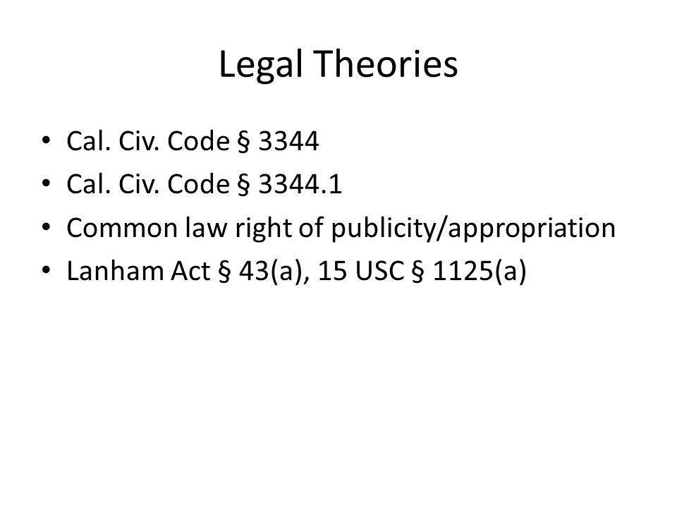 Cal.Civ. Code § 3344 3344.