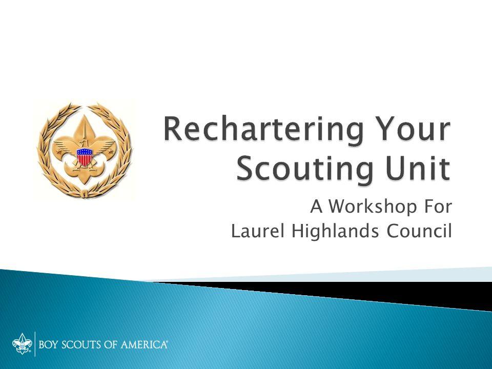 A Workshop For Laurel Highlands Council