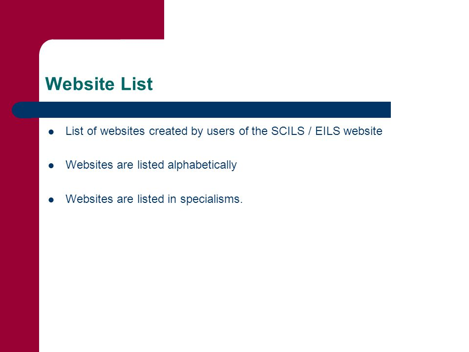 Registration Contact > for a Registration Number – > Go to www.scils.co.uk or www.eils.co.uk and click on Register.