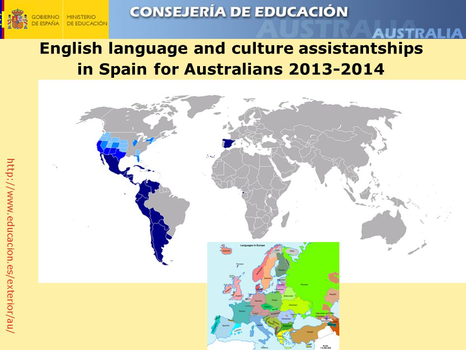 http://www.educacion.es/exterior/au/ English language and culture assistantships in Spain for Australians 2013-2014