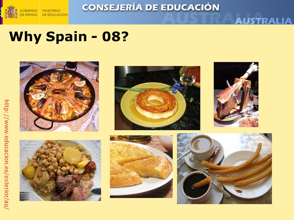 http://www.educacion.es/exterior/au/ Why Spain - 08