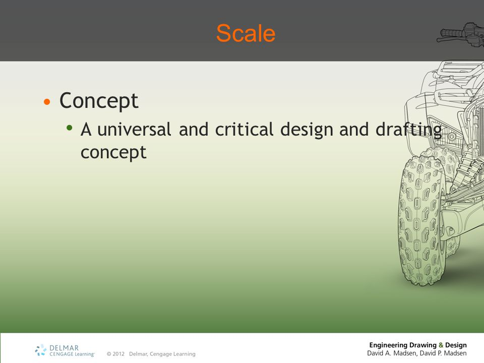 Scale Concept A universal and critical design and drafting concept