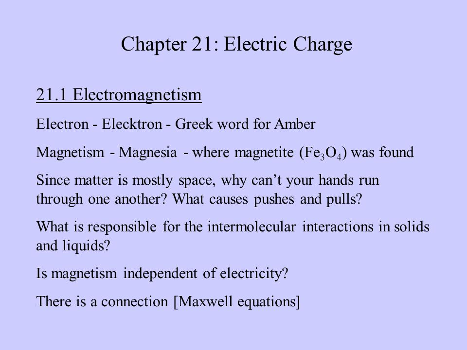 E&M in Science and technology: Electrostatic precipitator Photocopy machine Electric spray painting The electric range [induction and/ or resistance] Electronics Nanotechnology!.