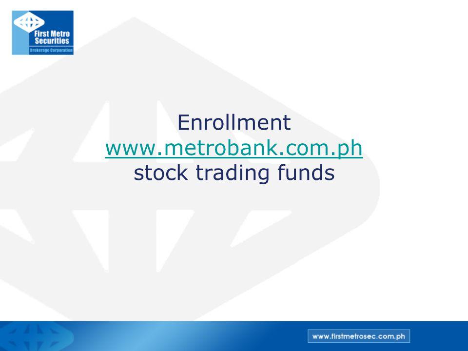 Enrollment www.metrobank.com.ph stock trading funds www.metrobank.com.ph