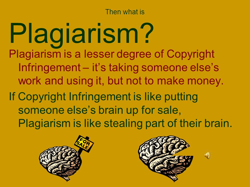 What types of WORK are considered INTELLECTUAL PROPERTY.