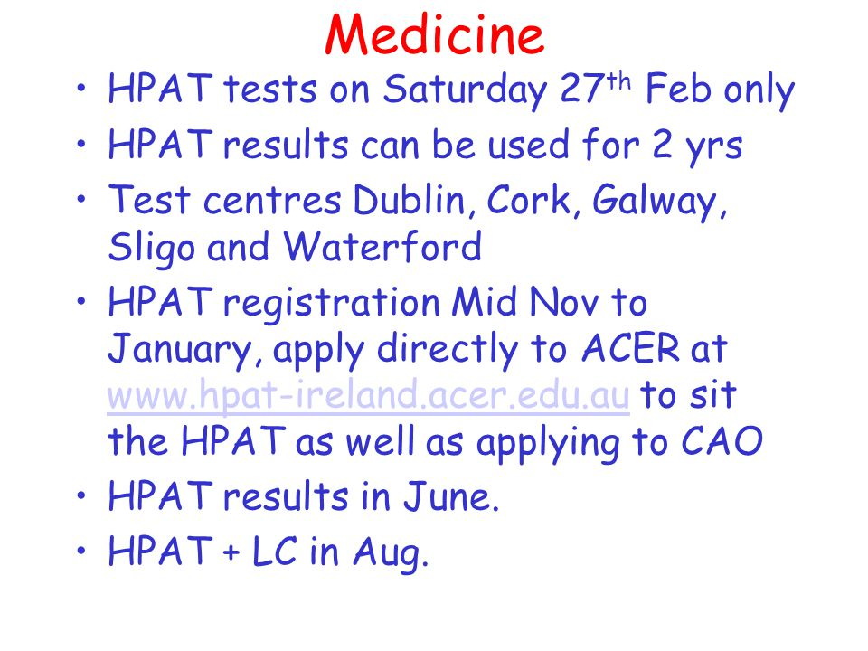 Medicine NUIG, 2HC's 1 science, 3 rd language in 6 yrs and 2 sciences in 5 yrs.