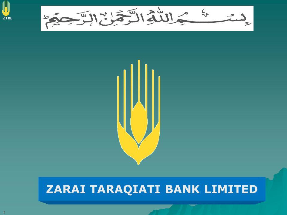 ZTBL 1 ZARAI TARAQIATI BANK LIMITED