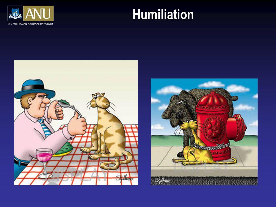 Academic 'Survey'  How do you humiliate an academic.