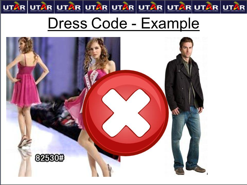 Dress Code - Example