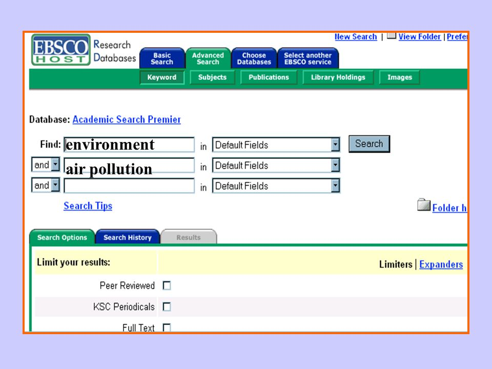 environment air pollution